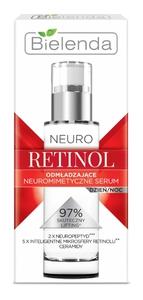 BIELENDA Neuro Retinol, Neuromimetyczne serum odmładzające dzień/noc, cera dojrzała, 30 ml