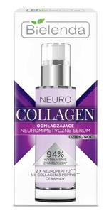 BIELENDA Neuro Collagen, Neuromimetyczne serum odmładzające dzień/noc, cera dojrzała, 30 ml