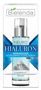 BIELENDA Neuro Hialuron, Neuromimetyczne serum odmładzające, dzień/noc, cera dojrzała, 30 ml