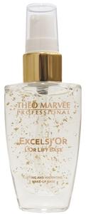 THEO MARVEE Excelsior Lift Base, Rozświetlająca baza pod makijaż z 24k złotem, 30 ml