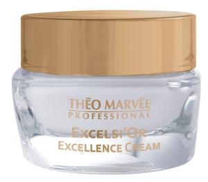 THEO MARVEE Excelsior Excellence Face Cream , Liftingujący krem na dzień z kolidalnym złotem, 50 ml