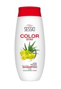 [W] CHANTAL Sessio Color Stay, Szampon z jedwabiem do włosów farbowanych, 300 ml