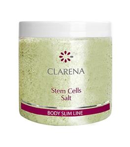CLARENA Body Slim Line Stem Cells Salt, Sól do kąpieli z komórkami macierzystymi, 250 g