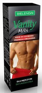 BIELENDA Vanity Man, Krem do depilacji dla mężczyzn, 100 ml