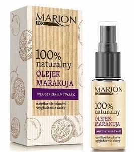 MARION Eco, 100% Naturalny olejek z marakuja do twarzy, ciała i włosów, skóra naczyniowa, z przebarwieniami, 25 ml