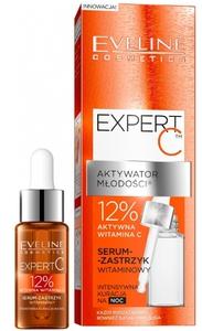 EVELINE Expert C Aktywator Młodości, Serum - zastrzyk 12% witamina C, każda cera, 18 ml