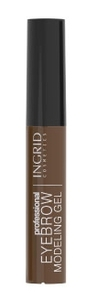 INGRID Eyebrow Modeling Gel, Żel do modelowania i stylizacji brwi, Light Brown, 9 ml