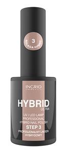 [W] INGRID Hybrid Ultra, Hybrydowy lakier do paznokci, 03 Malaga, 7 ml