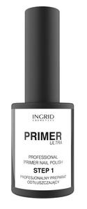 [W] INGRID Hybrid Ultra Primer, Primer pod hybrydowy lakier do paznokci, 7 ml