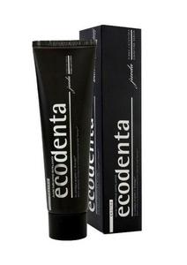 ECODENTA, Czarna pasta wybielająca do zębów z aktywnym węglem, 100 ml