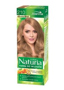 JOANNA Color Naturia, Farba do włosów trwale koloryzująca, 210 naturalny blond, 1 op.