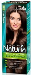 JOANNA Naturia Perfect Color, Farba do włosów bez amoniaku, 141 zimny brąz, 1 op.