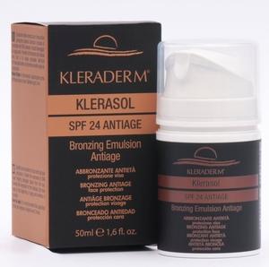 KLERADERM Klerasol, Emulsja przeciwsłoneczna SPF 50+, 50 ml