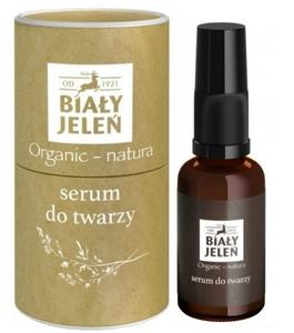 BIAŁY JELEŃ Organic Natura, Serum do twarzy, cera wrażliwa i atopowa, 30 ml