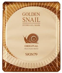 SKIN 79 Golden Snail Hydro Gel Mask Original, Hydrożelowa maska do twarzy z mucyną ślimaka złotego, 25g