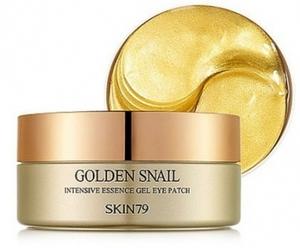SKIN 79 Golden Snail Intensive Gel Eye Patch, Żelowe płatki pod oczy z filtratem ślimaka złotego, 60 szt.