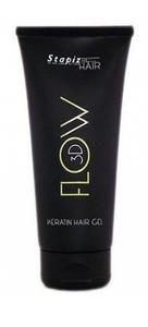 STAPIZ Flow 3D, Keratynowy mocny żel do stylizacji włosów, 200 ml