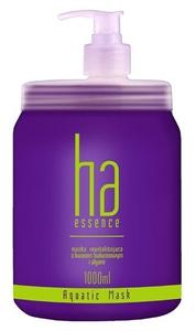 STAPIZ HA Essence Aquastic, Maska nawilżająca z kwasem hialuronowym, włosy suche i zniszczone, 1000 ml