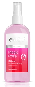 EVREE Magic Rose, Różany tonik do twarzy w sprayu, cera mieszana i sucha, 75 ml