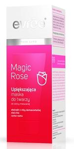 EVREE Magic Rose, Upiększająca maska różana do twarzy, każda cera, 75 ml