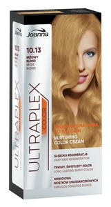 JOANNA Ultraplex Color, Pielęgnacyjna farba do włosów, 10.13 beżowy blond, 1 op.