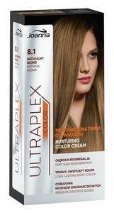 JOANNA Ultraplex Color, Pielęgnacyjna farba do włosów, 8.1 naturalny blond, 1 op.