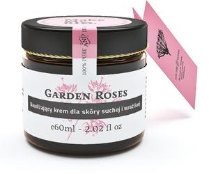 MAKE ME BIO Garden Roses, Lekki krem nawilżający, cera sucha i wrażliwa, 60 ml