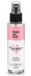 [W] MAKE ME BIO, Woda różana do pielęgnacji twarzy - hydrolat, każda cera, 100 ml