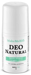 [W] MAKE ME BIO Deo Natural, Naturalny dezodorant do ciała bez aluminium, 50 ml