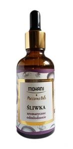 MOHANI, Naturalny olej z pestek śliwek, cera dojrzała, sucha i przesuszona, 50 ml