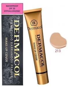 DERMACOL Make Up Cover, Wodoodporny podkład kryjący, nr 213, 30g