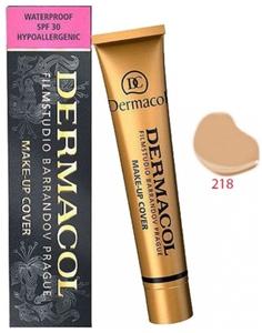 DERMACOL Make Up Cover, Wodoodporny podkład kryjący, nr 218, 30g