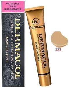 DERMACOL Make Up Cover, Wodoodporny podkład kryjący, nr 223, 30g