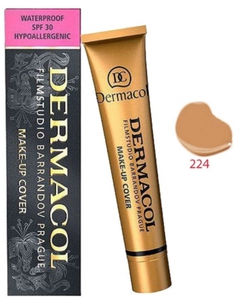 DERMACOL Make Up Cover, Wodoodporny podkład kryjący, nr 224, 30g