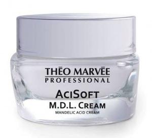 THEO MARVEE AciSoft M.D.L Cream, Nawilżający krem z kwasem migdałowym, każda cera, 50 ml
