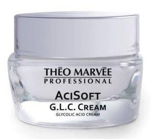 THEO MARVEE AciSoft G.L.C Cream, Restrukturyzujący krem z kwasem glikolowym, każda cera, 50 ml