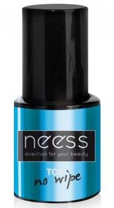 NEESS Top no Wipe, Hybrydowy lakier nawierzchniowy, 8 ml