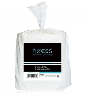 NEESS Akcesoria, Waciki bezpyłowe do manicure, 250 szt