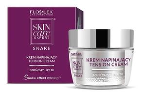 FLOSLEK Skin Care Expert Snake, Krem napinający na dzień SPF20, cera dojrzała, 50 ml