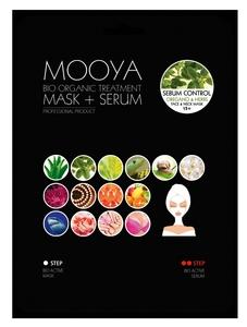 """BEAUTY FACE Moya Bio Organic, Zabieg na twarz i szyję """"Regulacja sebum"""" maska+serum z oregano, 1 op. + płatki pod oczy GRATIS"""