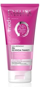 EVELINE FaceMed+, Hialuronowy żel do mycia twarzy 3w1, każda cera, 150 ml
