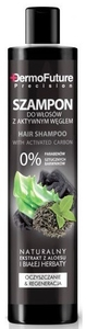 DERMO FUTURE Hair, Szampon do włosów z aktywnym węglem, każdy rodzaj włosów, 250 ml