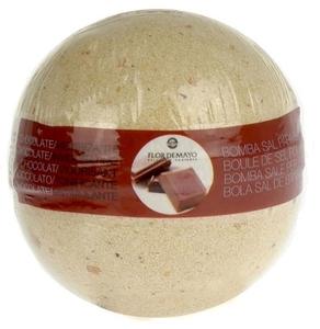FLOR DE MAYO Body, Aromatyczna kula musująca do kąpieli Czekolada, 250g