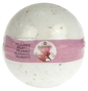 FLOR DE MAYO Body, Aromatyczna kula musująca do kąpieli Magnolia, 250g