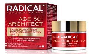 FARMONA Radical Age Architect, Nawilżający krem przeciwzmarszczkowy na dzień 50+, cera dojrzała, 50 ml