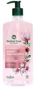 FARMONA Herbal Care, Płyn micelarny do demakijażu Kwiat Migdałowca, każda cera, 400 ml