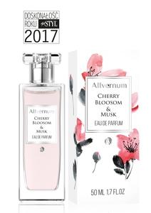 ALLVERNUM Cherry Blossom & Musk, Damska woda perfumowana Kwiat Wiśni i Piżmo, 50 ml