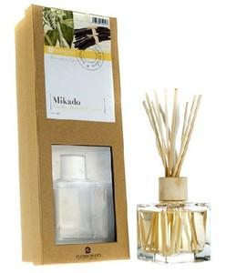 [W] FLOR DE MAYO, Patyczki bambusowe + olejek zapachowy Wanilia, 50 ml