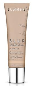 LUMENE Blur Longwear Foundation SPF15, Podkład wygładzający,  0 Light Ivory, 30 ml