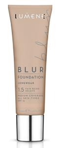 LUMENE Blur Longwear Foundation SPF15, Podkład wygładzający,  1.5 Fair Beige, 30 ml